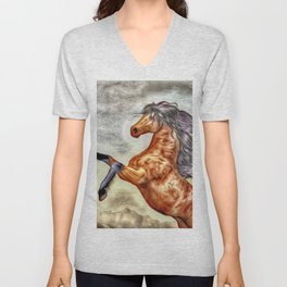 Painted Horse 3 Unisex V-Neck