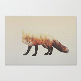 Veluwe V2: Fox Canvas Print