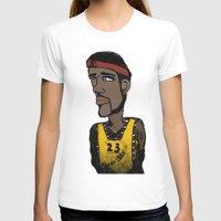basketball T-shirts featuring Basketball  by JBLITTLEMONSTERS