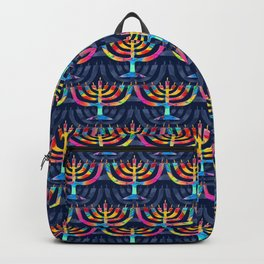 Hanukkah Menorah Backpack