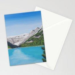 Lake Louise, Banff Acrylic Painting Stationery Cards