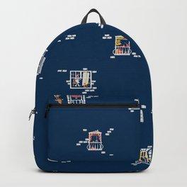 Paris Windows 2 Pattern Backpack