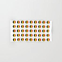Flag of belgium 7 belgian,belge,belgique,bruxelles,Tintin,Simenon,Europe,Charleroi,Anvers,Maeterlinc Hand & Bath Towel