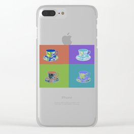 Hot Tea Clear iPhone Case