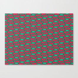 Pop Swirls Canvas Print