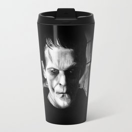 THE MONSTER of FRANKENSTEIN - Boris Karloff Travel Mug