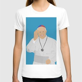 Pope Francis - San Lorenzo version T-shirt
