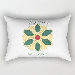 Together in Paris Rectangular Pillow