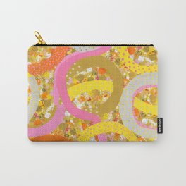 abstract worm dots Carry-All Pouch