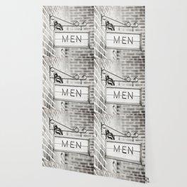 Men Bathroom Sign, Men's Restroom Wallpaper