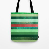 watermelon Tote Bags featuring Watermelon by Elisabeth Fredriksson