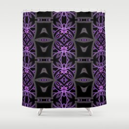 Funky Tribe Shower Curtain