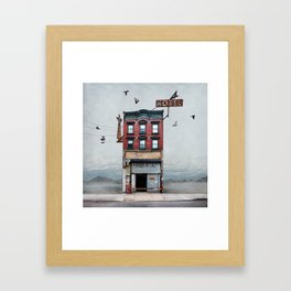Urban Realty Framed Art Print