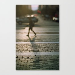 Anon in the city Canvas Print