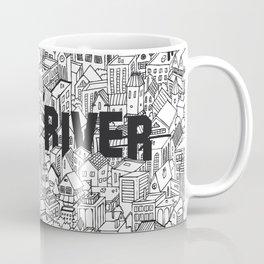 The Town (Black & White) Coffee Mug