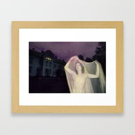 Halloween Honey Framed Art Print