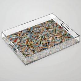 Texas Kaleidoscope Acrylic Tray