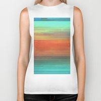trippy Biker Tanks featuring Trippy Serape by Cultivate Bohemia