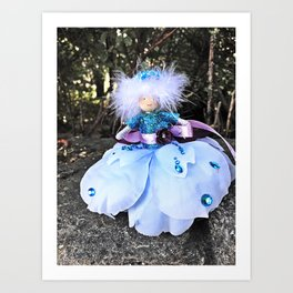 Forest Fairy. Art Print