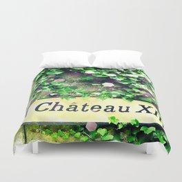Chateau  médiéval Duvet Cover