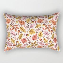 Leaves & Acorns Rectangular Pillow