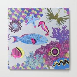 Tropical Dream (Bright Colors) Metal Print