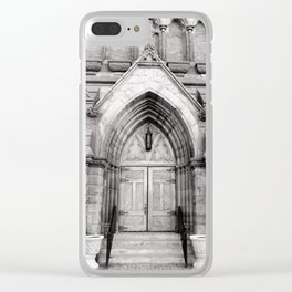The Doors are but One Way In Clear iPhone Case