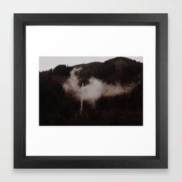 Oregon Waterfalls Framed Art Print