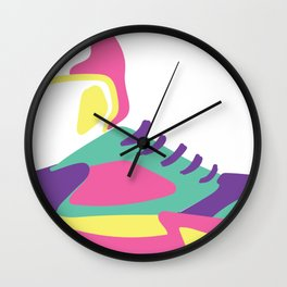 Retro Shoe Wall Clock