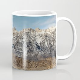 Mt Whitney, Alabama Hills Sunrise 3-1-19 Coffee Mug
