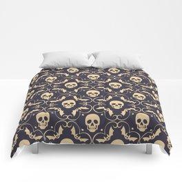 Happy halloween skull pattern Comforters