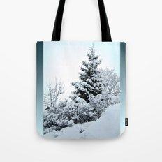 Natures Christmas Tree Tote Bag