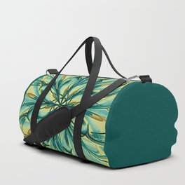 Swirly Flower Abstract 07 Duffle Bag
