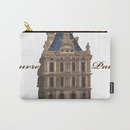 Louvre Palace Carry-All Pouch