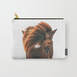 Horse Head Carry-All Pouch