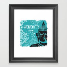 Serenity Now Framed Art Print