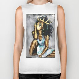 Naturally Queen XI Biker Tank