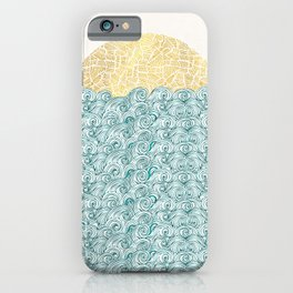 Sunny Tribal Seas iPhone Case