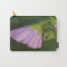 Malva With Morning Dew Carry-All Pouch