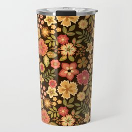 Mini Flowers Travel Mug