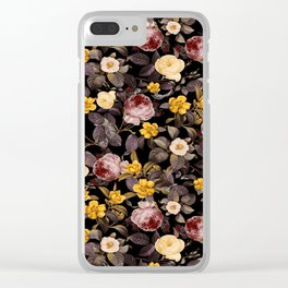 NIGHT FOREST XVI Clear iPhone Case