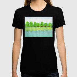 Trees Refecting On The Water T-shirt