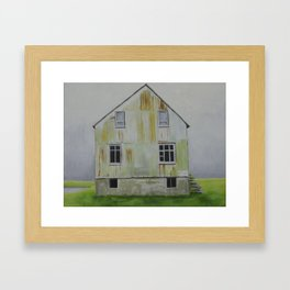 Abandoned Iceland 3 of 3 Framed Art Print