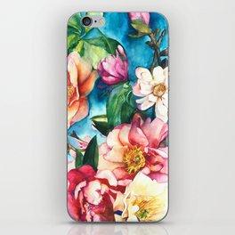 Tropical Floral I iPhone Skin