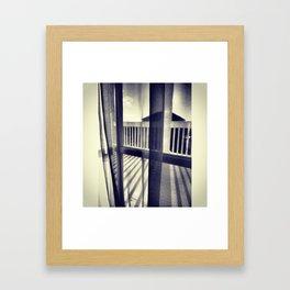shadows on shadows Framed Art Print