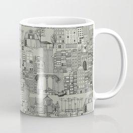 dystopian toile mono Coffee Mug