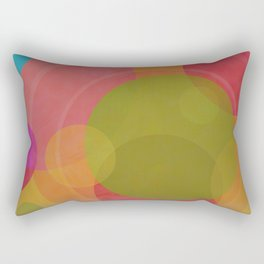 Circles Fruit Rectangular Pillow