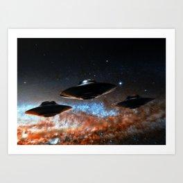 Flight of the Intruders Art Print