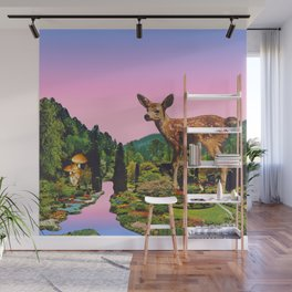 Giant deer Wall Mural