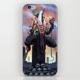 Harvester of Skulls iPhone Skin